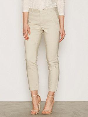 Polo Ralph Lauren omönstrade byxor Madison Skinny Pant Stone