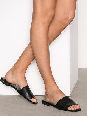 Topshop FERN Studded Heel Sandals Black