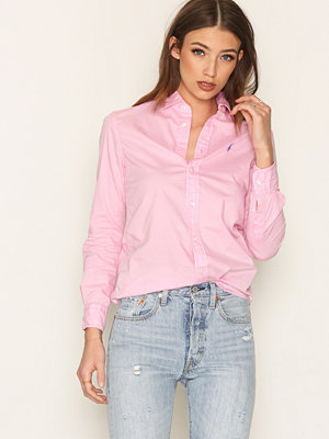 Polo Ralph Lauren Relaxed Long Sleeve Shirt Pink