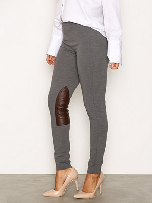 Polo Ralph Lauren grå byxor Jod Straight Pant Grey