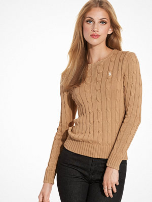 Polo Ralph Lauren Julianna Long Sleeve Sweater Tan