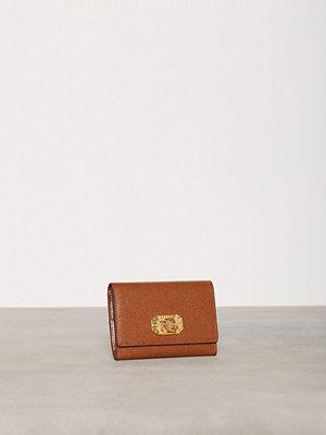 Plånböcker - Lauren Ralph Lauren 2 In1 Wallet Tan