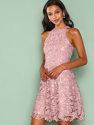 NLY Eve Scallop Lace Dress Lila