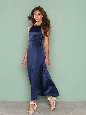 Motel Harper Maxi Dress Navy