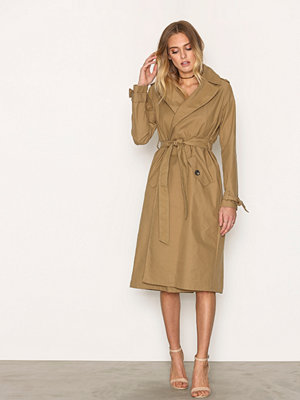 Trenchcoats - River Island Cotton Trench Camel