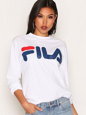Fila Classic Logo Long Sleeve Bright White