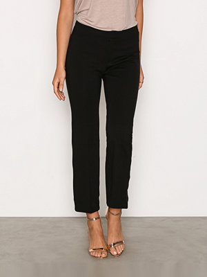 Filippa K svarta byxor Poe Cropped Jersey Pant Black
