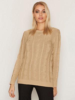 Polo Ralph Lauren Long Sleeve Zipper Sweater Sand