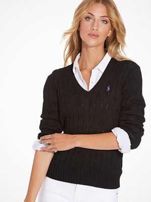Polo Ralph Lauren Kimberly Long Sleeve Sweater Black