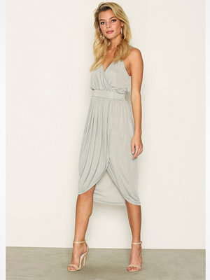 Vero Moda Vmmya Btk Draped Dress Nfs - Ka Blå