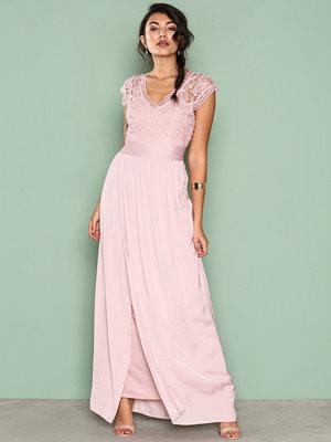 Vila Viponny Maxi Dress/1 Ljus Rosa