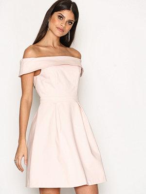 Vila Viatlas Offshoulder Dress/Dc Ljus Rosa