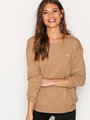Polo Ralph Lauren Crewneck Long Sleeve Sweater Camel