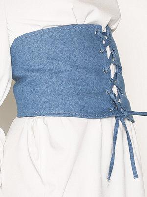 Bälten & skärp - Vero Moda Vmcorsage Waist Belt Blå