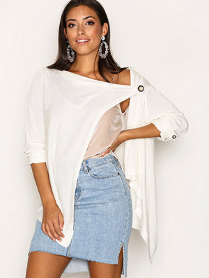 Object Collectors Item Objdeanna Light Knit Cardigan Noos Offwhite