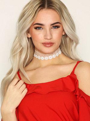 Vero Moda halsband Vmelsa Choker 2-Pack Vit