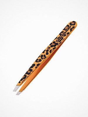 Ansikte - Tweezerman Printed Slant Tweezer Leopard