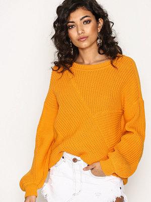 Vila Vilomas Knit Top Orange