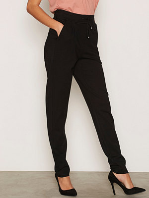 Vero Moda byxor Vmrory Nw Loose String Jersey Pant Svart