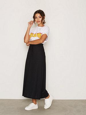 Vero Moda Vmlony Nw Ankle Skirt Noos Svart