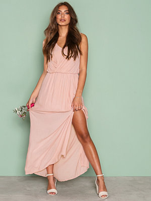 Only onlDONNA Sl Long Dress Wvn Ljus Rosa