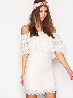 Vila Viwoodstock Off-Shoulder Dress/Dc Offwhite
