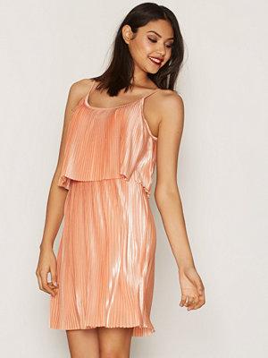 Noisy May Nmaba S/L Short Dress 2 Ljus Rosa