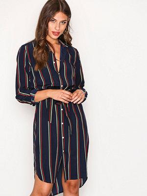 Polo Ralph Lauren Hayden Casual Dress Blå/Röd