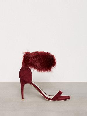 Pumps & klackskor - NLY Shoes Cuff Heel Sandal Burgundy