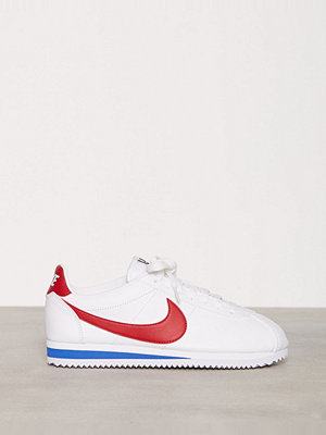 Nike NSW Classic Cortez Leather Vit/Röd