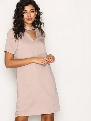 Vero Moda Vmella Choker 2/4 Short Dress Nfs Ljus Lila