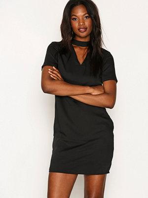 Vero Moda Vmella Choker 2/4 Short Dress Nfs Svart