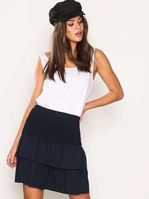 Vero Moda Vmtilde Frill Skirt D2-4 Mörk Blå