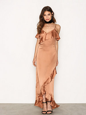 Studio 75 Yasfielle Off Shoulder Maxi Dress 7 Brun