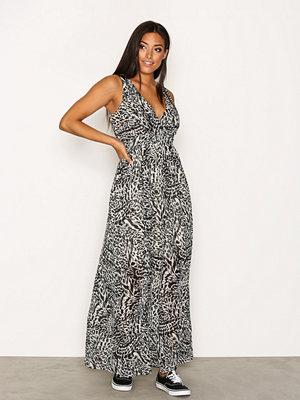 Vero Moda Vmholly S/L Maxi Dress Nfs Svart