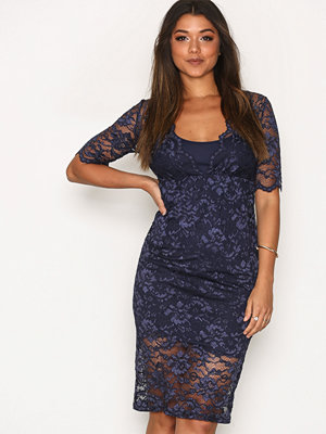 Vila Vifana 2/4 Lace Dress Blå
