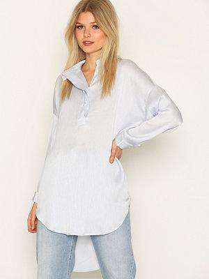 Selected Femme Sfaugusta 7/8 Shirt Blå