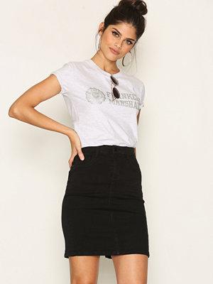 Only onlRAIN Pencil Skirt Pnt CRY6060 Svart