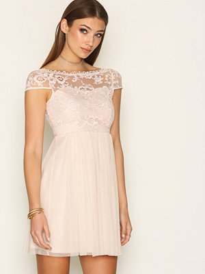Vila Viulricana Short Dress/Stu Ljus Rosa