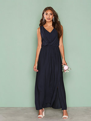 Only onlDONNA Sl Long Dress Wvn Mörk Blå
