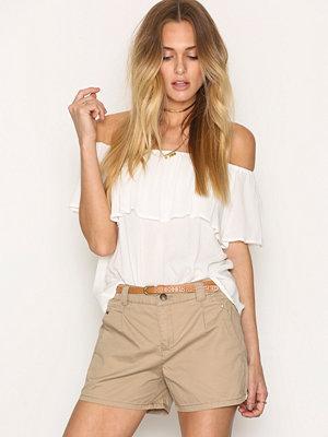Shorts & kortbyxor - Vero Moda Vmboni Nw Shorts Clr Noos Ljus Brun
