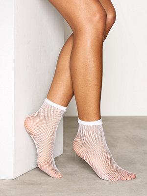Strumpor - Vero Moda Vmnetty Fishnet Socks Vit