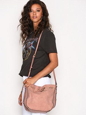 Handväskor - Pieces Pckabe Tighten Bag Rosa