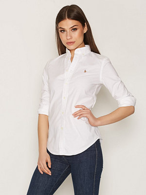 Polo Ralph Lauren Ngl Kendal-Long Sleeve-Shirt White