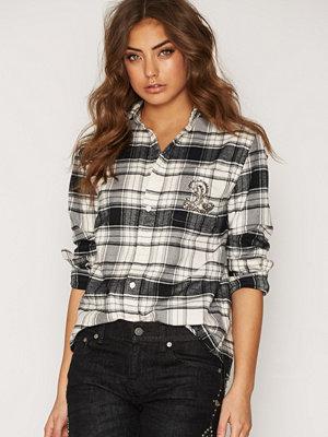 Skjortor - Polo Ralph Lauren Long Sleeve Crystal Shirt Winter Darkness