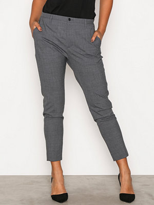 Hope grå byxor Krissy Trouser Grey Melange