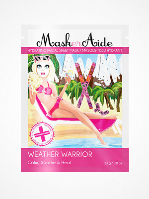 Ansikte - MaskerAide Weather Warrior Sheet Mask White