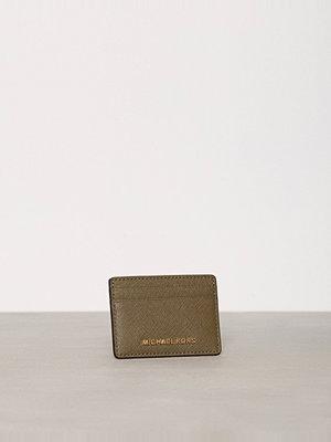 Plånböcker - MICHAEL Michael Kors Jet Set Travel Card Holder Olive
