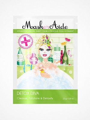 Ansikte - MaskerAide Detox Diva Sheet Mask White
