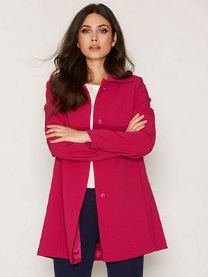 Kappor - Lauren Ralph Lauren Crepe Shirt Collar Raspberry